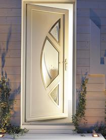 la porte d 39 entr e en pvc r siste bien aux agressions climatique. Black Bedroom Furniture Sets. Home Design Ideas